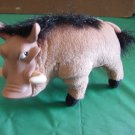 Lion King Pumba Warthog Hard Face Stuffed Plush Disney