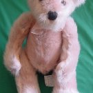 Fiesta 'Antique' Sitting Bear Pink? Stuffed Plush 7""