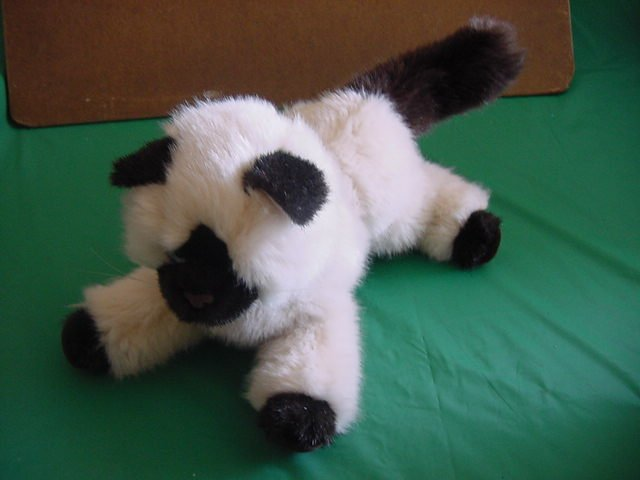 Douglas Cuddle Cat Kitty Balinese or Siamese Plush Stuffed