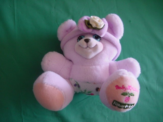 Fisher Price Briarberry Bear Baby Kristin Stuffed Plush