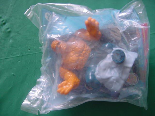 Burger King Fantastic 4 Four Thing Crusher? Toy MIP