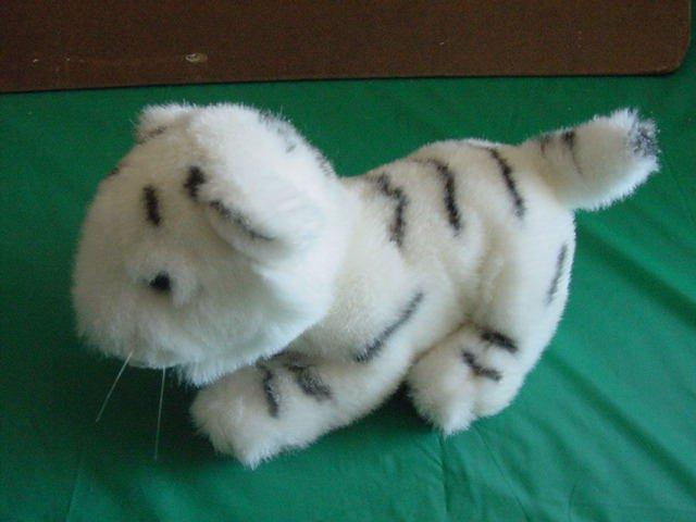 "Westcliff Collection White Tiger Stuffed Plush 7"""