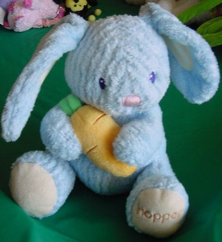 "Easter Hopper Bunny Bright Starts Singing Plush 6"""