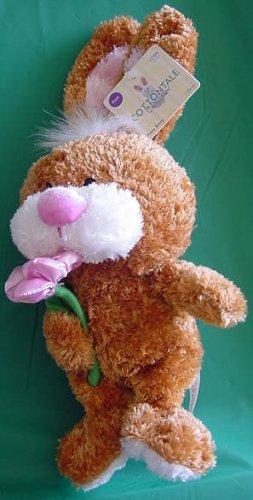 "Easter Funny Bunny Cottontale JoAnn Stuffed Plush 6"""