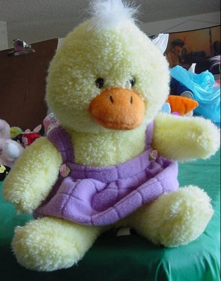"""Easter Yellow Chick or Duck Stuffed Plush 8"""" Squishy"""