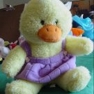 "Easter Yellow Chick or Duck Stuffed Plush 8"" Squishy"