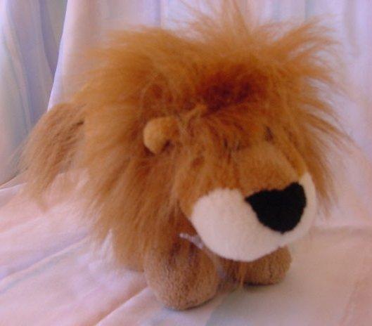 """Tri Russ Noah Brown Lion Stuffed Plush 7.5"""" W/ Mane"""