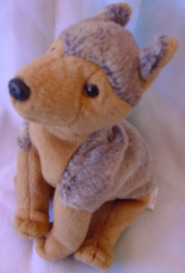 TY Beanie Baby Sarge Dog 2000 Stuffed Plush No tag
