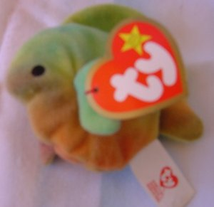 "TY Teenie Beanie Baby Coral the Fish Plush W/ Tag 3"" McDonald's"