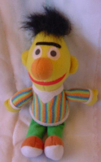 "Sesame Street Bert Beanie Stuffed Plush 8"" Tyco 1997"