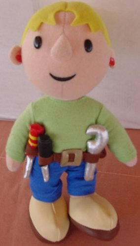 Bob the Builder Talking Wendy Doll Stuffed Plush 8""