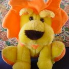 "Cloud 9 Yellow & Orange Lion Stuffed Plush 9"" Cute"