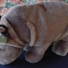 "King Plush Kuddles Gray Rhino Stuffed Plush 12"" Soft"