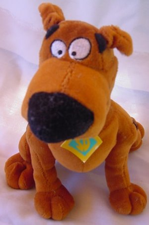 Scooby Doo Dog Sitting Giftco Stuffed Plush 8.5""