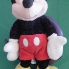 Mickey Mouse Disneyland Crushed Velvet Stuffed Plush 7""