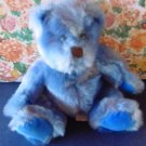 Blue September Bear Frannie Applause Stuffed Plush 7""