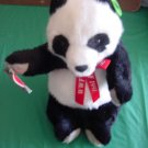 "Applause WWF Giant Panda 11"" Stuffed Plush 1991 Cute Tag"