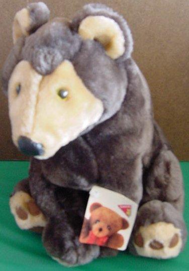 Dakin Applause Sherwood Slate Bear Stuffed Plush Tag