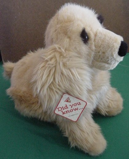 "Dakin Brown Cocker Spaniel Toby 14"" Stuffed Plush Tag"