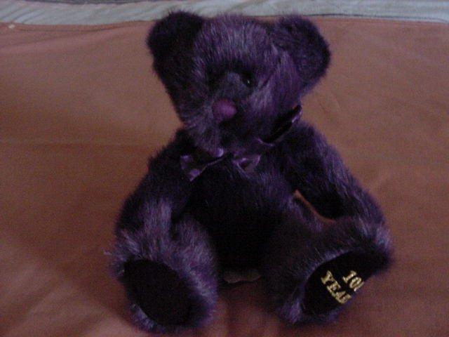"Russ Berrie Splendor Bear Stuffed Plush 6"" 100 Year"