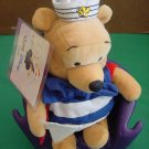Winnie Pooh Bear Sailor Bee Hat Club Disney Stuffed Plush 6""