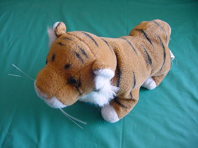 "Fiesta Chubby Bengal Tiger Stuffed Plush 6.5"" Tag"