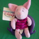 "Pooh Piglet Stuffed Plush Disney Store 6"" Tag"
