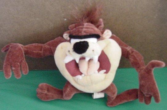 """Six Flags Taz Tasmanian Devil Stuffed Plush 6"""""""