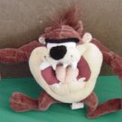 Six Flags Taz Tasmanian Devil Stuffed Plush 6""