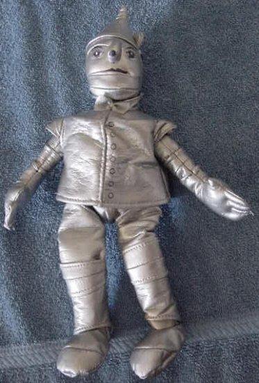 """Wizard of Oz Silver Tinman Tin Man Stuffed Plush 8"""""""