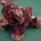 "Aurora Chubby Feet Brown Bear Stuffed Plush 8"" Squishy"