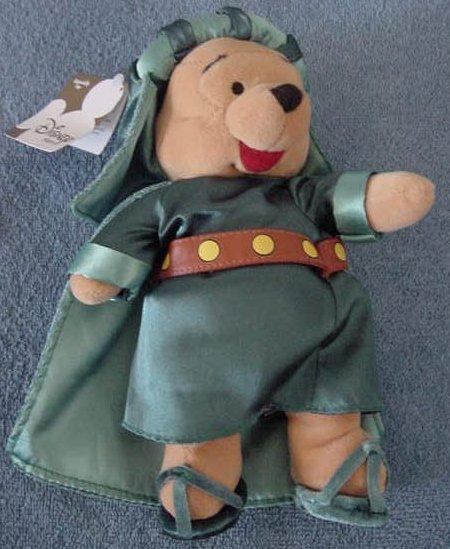 "Pooh Bear Three Wisemen Disney Store Stuffed Plush 8"""
