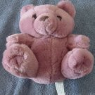 Petal Plush Pinkish Purple Sitting Bear Stuffed Plush