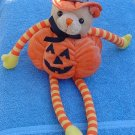 Fiesta Halloween Pumpkin Witch Bear Stuffed Plush