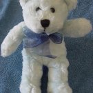 Fiesta Light Blue Sitting Bear Soft Stuffed Plush 7""