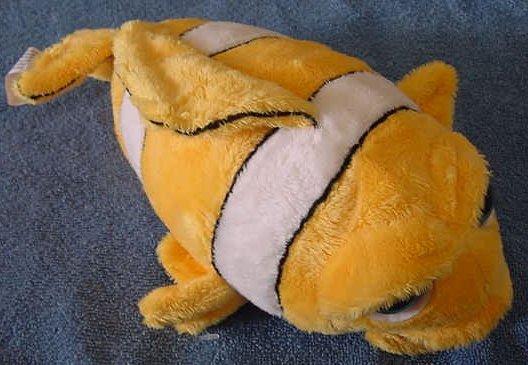"""Finnegan Z Fish Plak Posse Palz Teeth Stuffed Plush 10"""""""