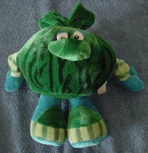 Circus Circus Casino Cabbage Melon Man Stuffed Plush 8""
