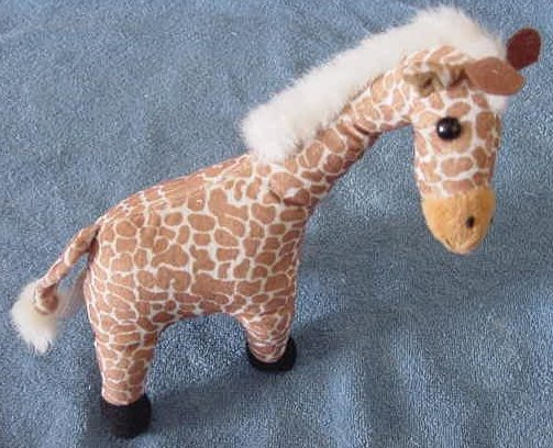 Circus Circus Casino Cute Giraffe Stuffed Plush 9""