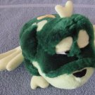 Classic Toy Co Green Spotted Frog Toad Stuffed Plush