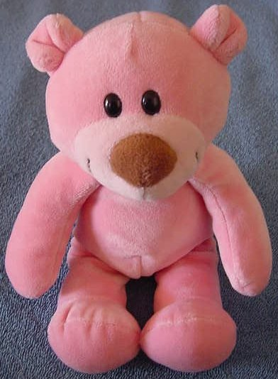 Animal Alley Pink Squishy Bear Stuffed Plush TRU