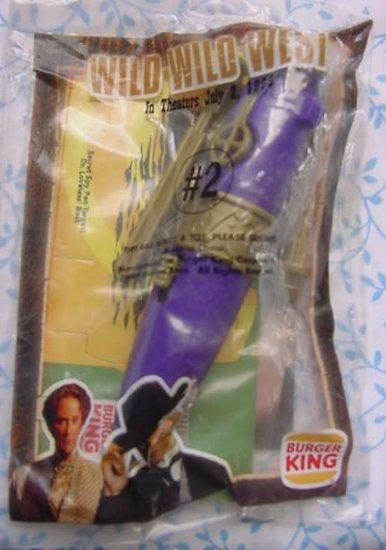 Burger King Wild Wild West Pen Launcher #2 Toy MIP 1998