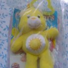 Burger King Care Bears Clip on Sunshine Yellow Bear Toy MIP 2005
