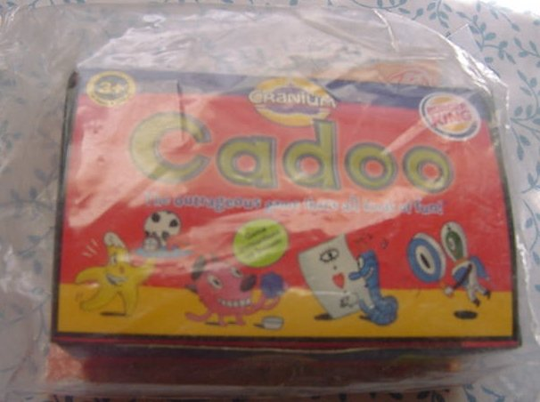Burger King Cranium Cadoo Game MIP Red Box