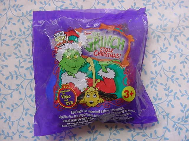 Wendy's Grinch Tree Ornament and Ball Game MIP