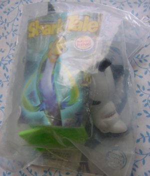 Burger King Shark Tale Frankie Shark Flapping Tail Toy  MIP