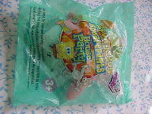 Wendy's Spongebob House Party Patrick Water Game MIP
