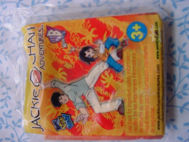 Wendy's Jackie Chan Adventures Kung Fu Match Card Game MIP