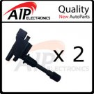 NEW IGNITION COIL ON PLUG *FITS PROTEGE 2.0L *SET OF 2