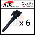 NEW IGNITION COIL PENCIL **SET OF 6 **FITS 3.5L 3.2L V6