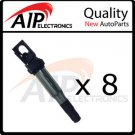 NEW IGNITION COIL ON PLUG PENCIL **FITS BMW **SET OF 8